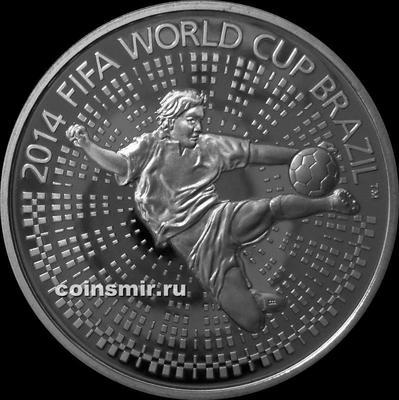1 рубль 2013 Беларусь. Чемпионат мира по футболу 2014 года в Бразилии.