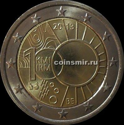 2 евро 2013 Бельгия. 100 лет Королевскому метрологическому институту.