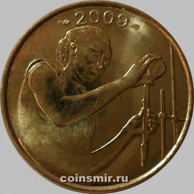 25 франков 2009  КФА BCEAO Западная Африка. ФАО. (в наличии 2015 год)