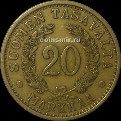 20 марок 1938 S Финляндия.