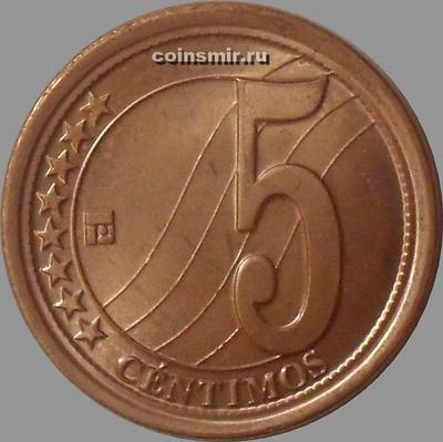 5 сентимо 2009 Венесуэла. (в наличии 2007 год)