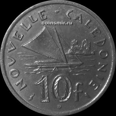 10 франков 1970 Новая Каледония. (в наличии 1972 год)