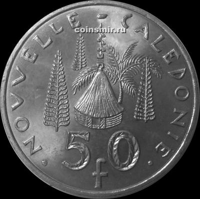 50 франков 2009 Новая Каледония.