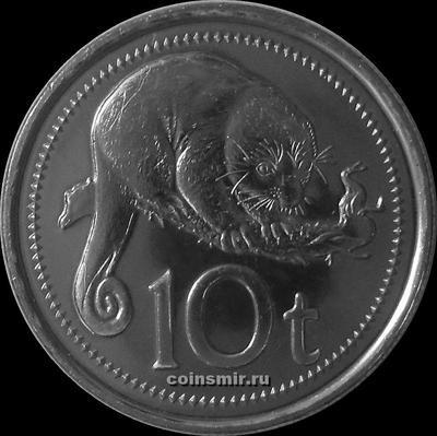 10 тойя 2006 Папу-Новая Гвинея. Пятнистый кускус.