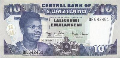 10 эмалангени 2006 Свазиленд.