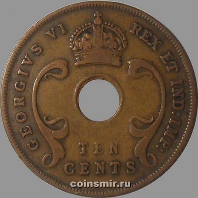 10 центов 1942 Британская восточная Африка.