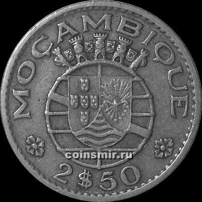 2,5 эскудо 1965 Португальский Мозамбик. (в наличии 1954 год)