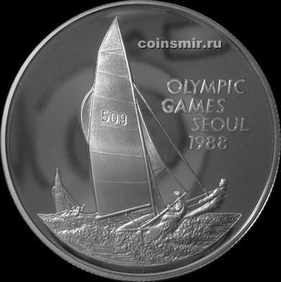 5 долларов 1988 Каймановы острова. Олимпиада в Сеуле 1988.