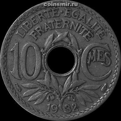 10 сантимов 1932 Франция.