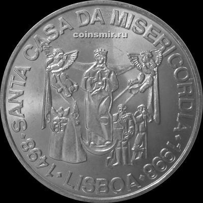 1000 эскудо 1998 Португалия. 500 лет церкви Милосердия.