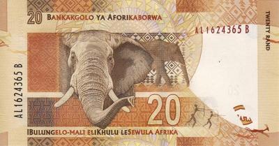 20 рандов 2012 Южная Африка.