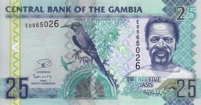 25 даласи 2006-12 Гамбия.