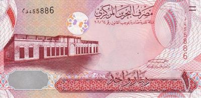1 динар 2006 Бахрейн.