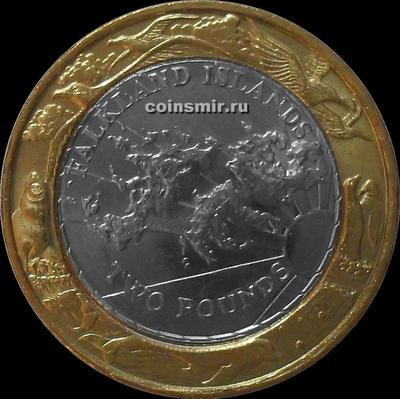 2 фунта 2004 Фолклендские острова.