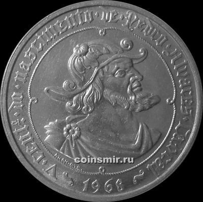 50 эскудо 1968 Португалия. Педру Алвариш Кабрал-мореплаватель.