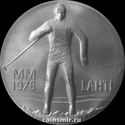 25 марок 1978 Финляндия. Чемпионат мира в Лахти.