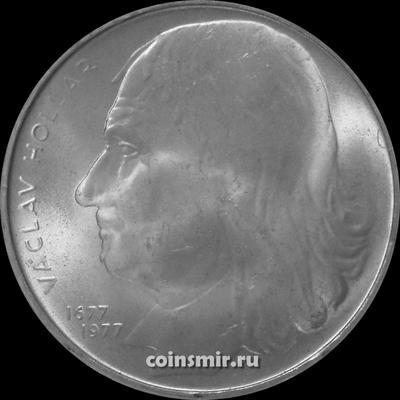 100 крон 1977 Чехословакия. Вацлав Холлар.