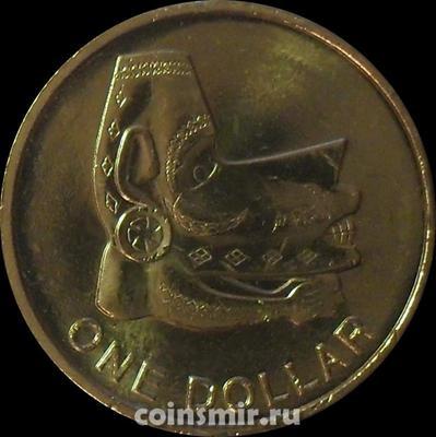 1 доллар 2012 Соломоновы острова.