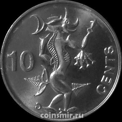 10 центов 2012 Соломоновы острова.