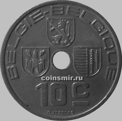 10 сантимов 1939 Бельгия. BELGIE-BELGIQUE.
