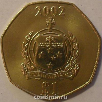 1 тала 2002 Самоа.