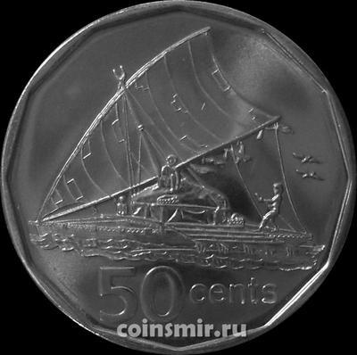 50 центов 2009 острова Фиджи.