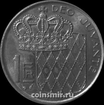 1 франк 1982 Монако.