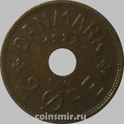 2 эре 1927 Дания.