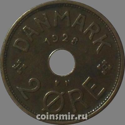 2 эре 1928 Дания.