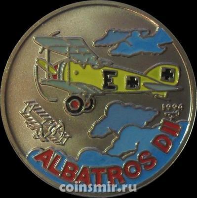 1 песо 1994 Куба. Альбатрос Д-II.