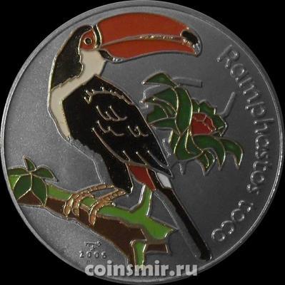 1 песо 2006 Куба. Тукан.
