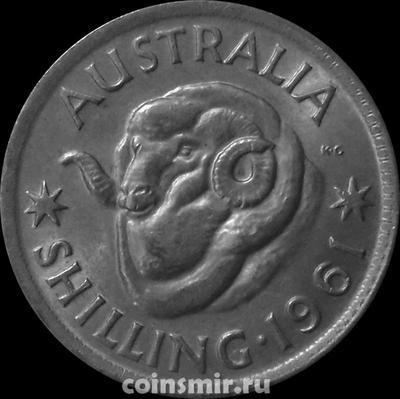 1 шиллинг 1961 Австралия.