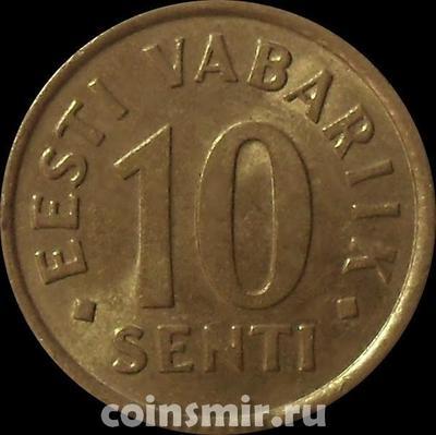 10 сентов 2002 Эстония.