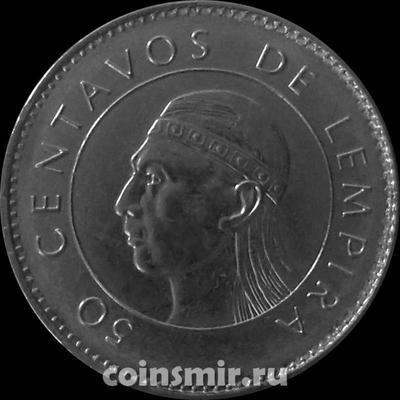 50 сентаво 2007 Гондурас.