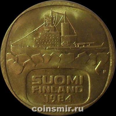 5 марок 1984 Финляндия. Ледокол Урхо.