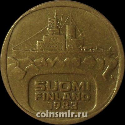 5 марок 1983 Финляндия. Ледокол Урхо.
