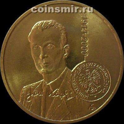 2 злотых 2014 Польша. Ян Карский.