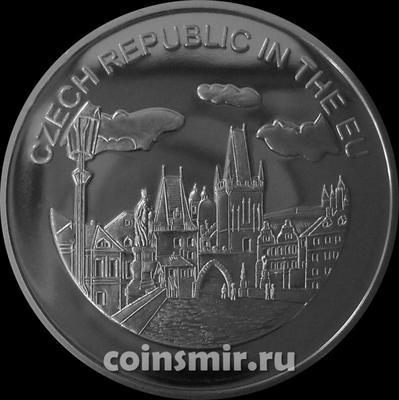 100 лир 2004 Мальтийский орден. Чехия в Евросоюзе.