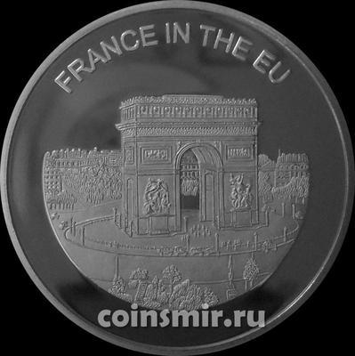 100 лир 2004 Мальтийский орден. Франция в Евросоюзе.