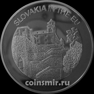 100 лир 2004 Мальтийский орден. Словакия в Евросоюзе.