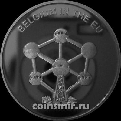 100 лир 2004 Мальтийский орден. Бельгия в Евросоюзе.