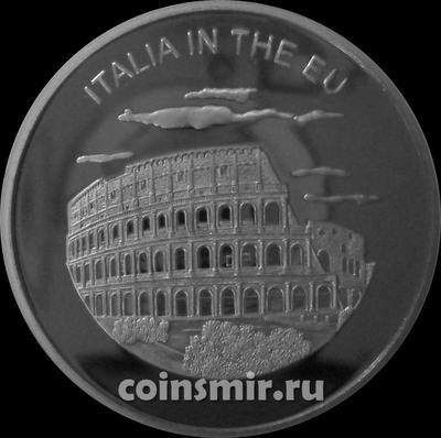 100 лир 2004 Мальтийский орден. Италия в Евросоюзе.