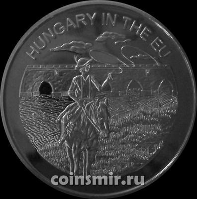 100 лир 2004 Мальтийский орден. Венгрия в Евросоюзе.