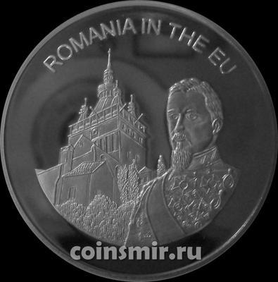 100 лир 2004 Мальтийский орден. Румыния в Евросоюзе.