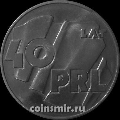 100 злотых 1984 Польша. 40 лет Польской народной республике.