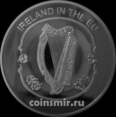 100 лир 2004 Мальтийский орден. Ирландия в Евросоюзе.