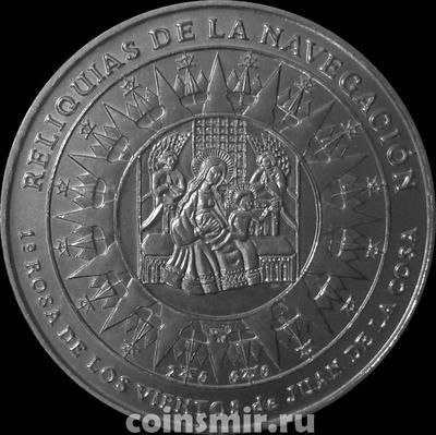 1 песо 2000 Куба. История навигации.