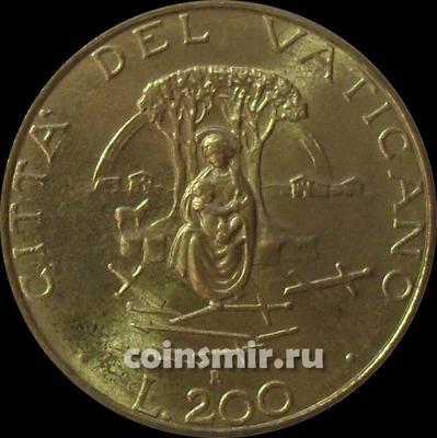 200 лир 1987  Ватикан.