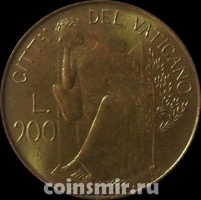 200 лир 1979 / I Ватикан.