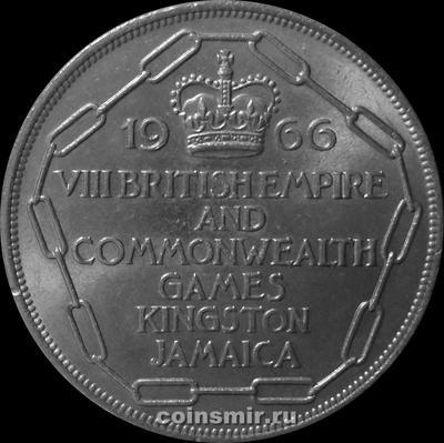 5 шиллингов 1966 Ямайка. VIII игры содружества.